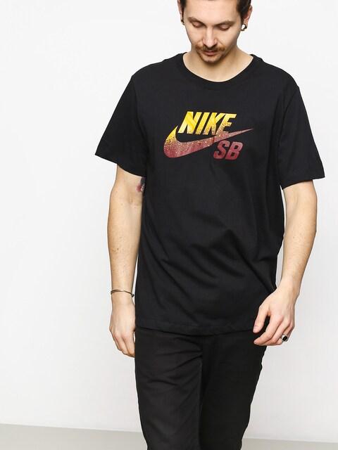 T-shirt Nike SB Sb Dri Fit Nba (black/team red/university gold)
