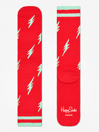 Skarpetki Happy Socks Athletic Flash (red/mint)