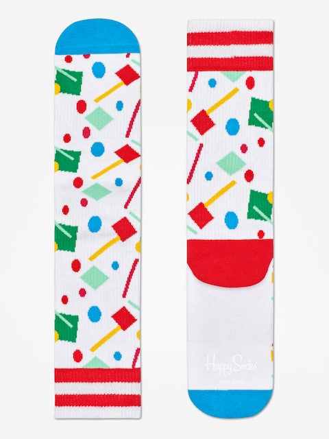 Skarpetki Happy Socks Athletic Confetti (white/blue/multi)