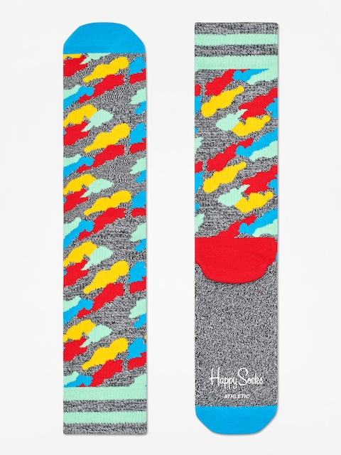 Skarpetki Happy Socks Athletic Cloud (heather grey/blue/multi)