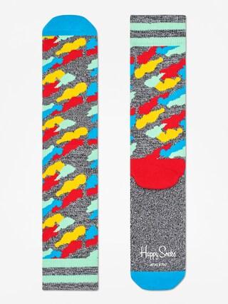 Skarpetki Happy Socks Athletic Cloud (heather grey/blue/multi)