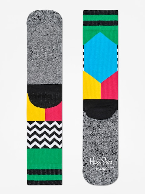 Skarpetki Happy Socks Athletic Blocked (heather grey/multi)