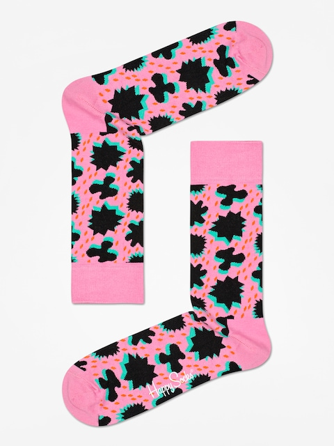 Skarpetki Happy Socks Comic Relief (pink/black)