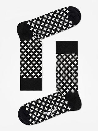 Skarpetki Happy Socks Plus (black/white)