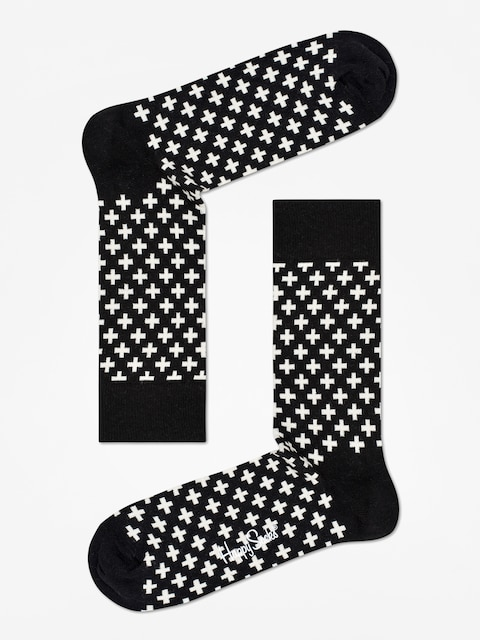 Skarpetki Happy Socks Plus (black/white)
