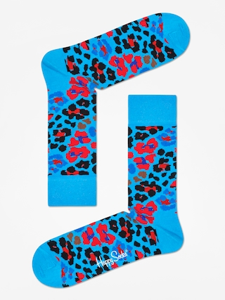 Skarpetki Happy Socks Leopard (blue/red/black)