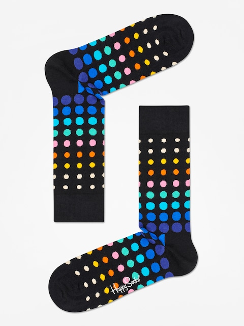 Skarpetki Happy Socks Faded Disco Dot (black/multi)