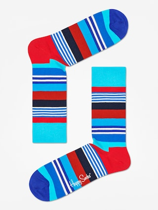 Skarpetki Happy Socks Multi Stripe (blue/black/red)