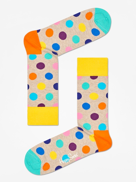 Skarpetki Happy Socks Big Dot (sand/multi)