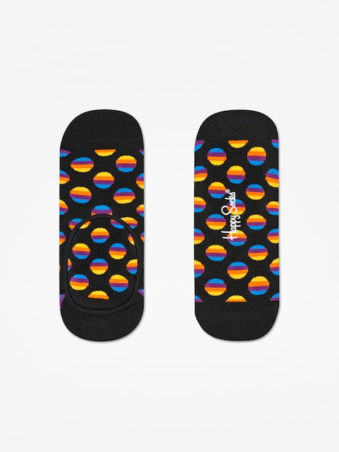 Skarpetki Happy Socks Sunrise Dot Liner Low (black/multi)