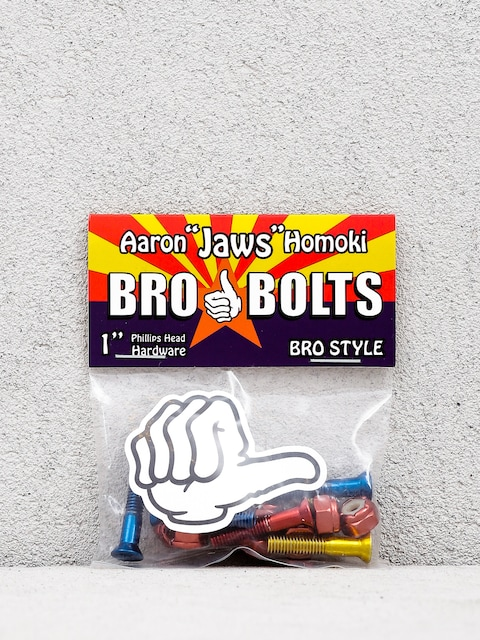 Montażówki Bro Style Aaron Jaws Homoki Phillips (red/blue/yellow)