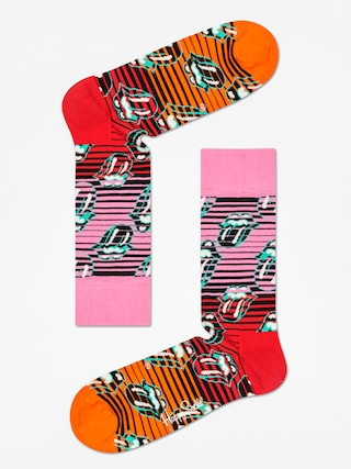 Skarpetki Happy Socks Rolling Stones (pink/red/orange)