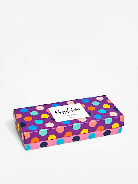 Skarpetki Happy Socks Giftbox 4Pk Dot (multi)