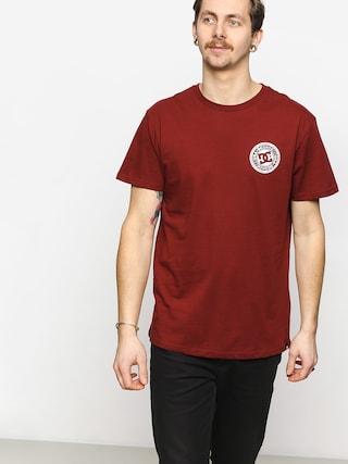 T-shirt DC Circle Star (pomegrenate)