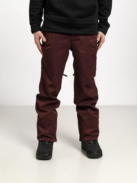 Spodnie snowboardowe ThirtyTwo Essex (burgundy)