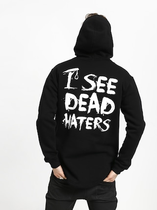 Bluza z kapturem Diamante Wear I See Dead Haters HD (black/white)