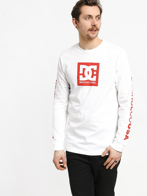Longsleeve DC Square Star Ls 2 (snow white)