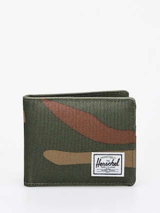 Portfel Herschel Supply Co. Roy Coin RFID (woodland camo/army)