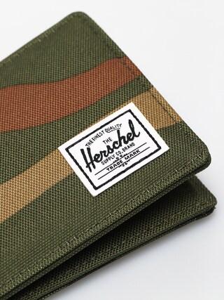 Portfel Herschel Supply Co. Roy Coin RFID (woodland camo/army)