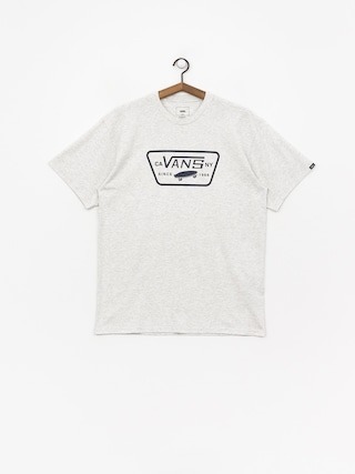 T-shirt Vans Full Patch (ash heather/dress blues)