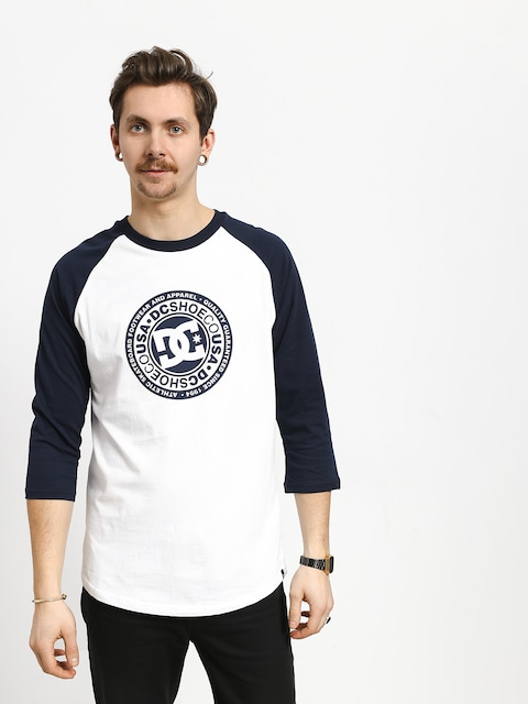 T-shirt DC Research 3/4 Raglan (black iris/snow white)