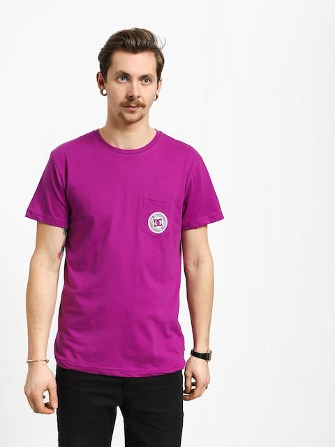 T-shirt DC Basic Pocket (vivid viola)