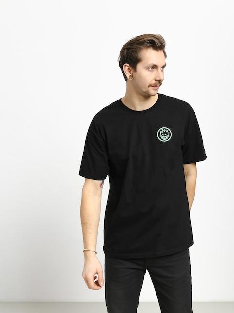 T-shirt Spitfire Retro Classic (black/glow)