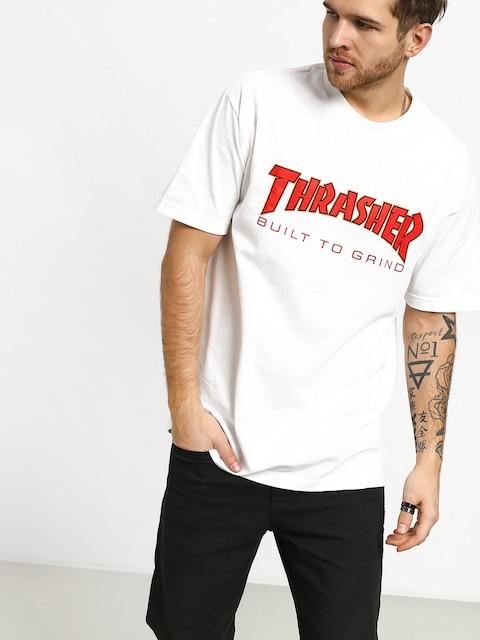 T-shirt Independent Thrasher Btg (white)