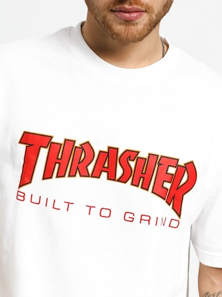T-shirt Independent Thrasher Btg (white)