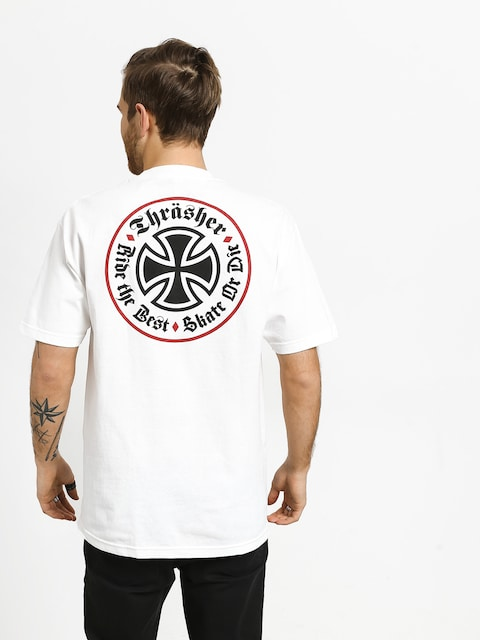T-shirt Independent Thrasher Oath (white)