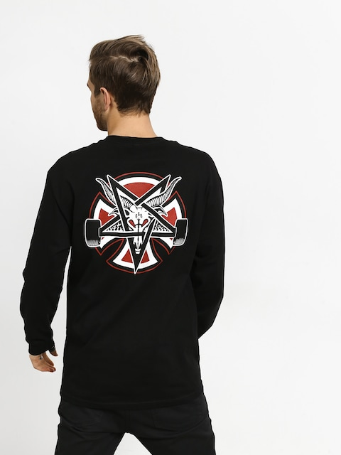 Longsleeve Independent Thrasher Pentagram Cross