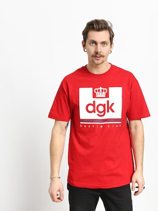 T-shirt DGK Hustle Club (red)