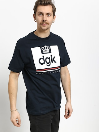 T-shirt DGK Hustle Club (navy)