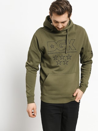 Bluza z kapturem DGK 5 Star Custom HD (army)