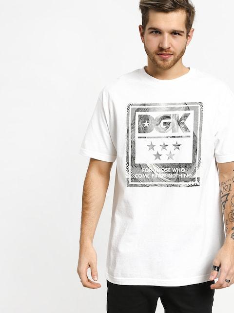 T-shirt DGK Dead President (white)