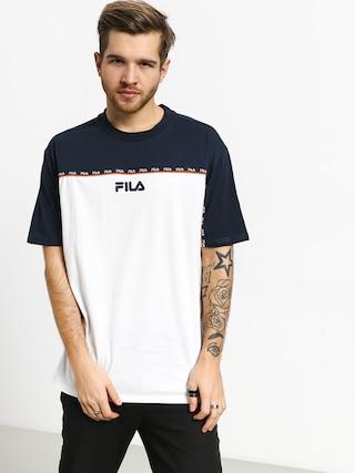 T-shirt Fila Dragster (black iris/bright white)