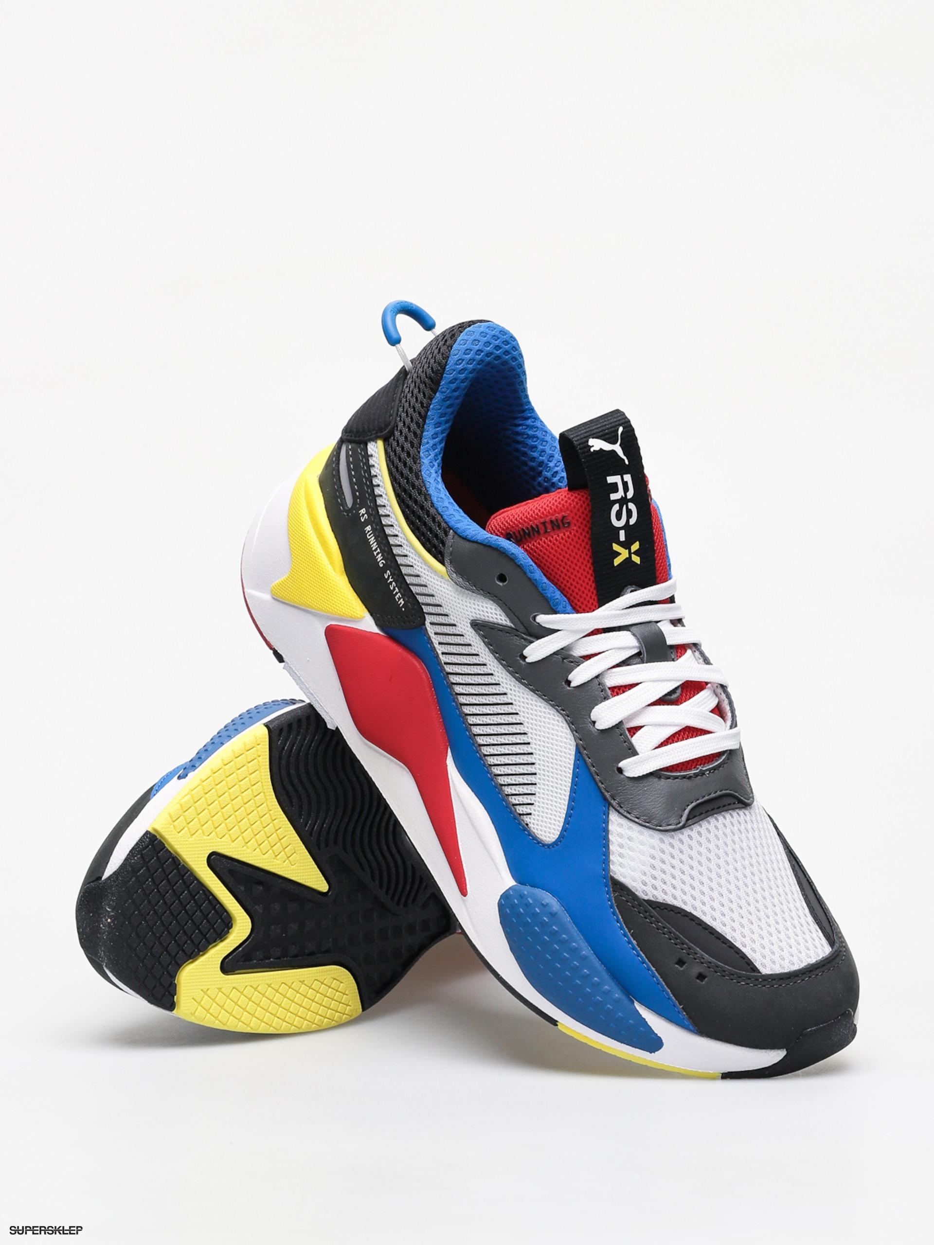 Buty Puma Rs X Toys (puma whitepuma royalhigh risk red)
