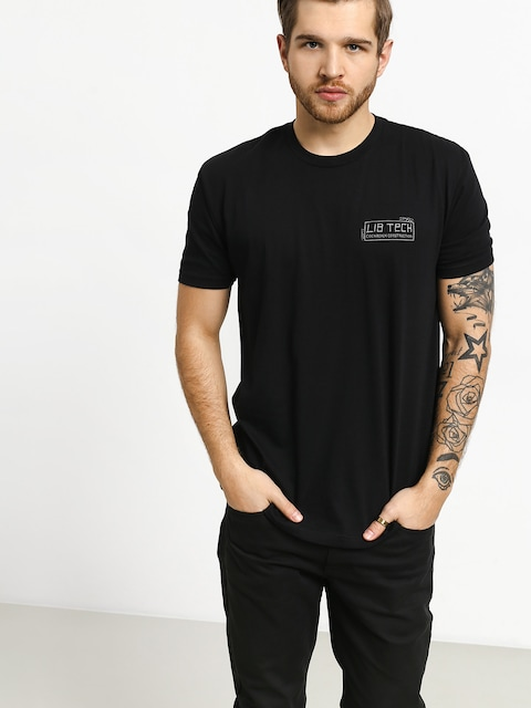 T-shirt Lib Tech Cockroach Construction (black)