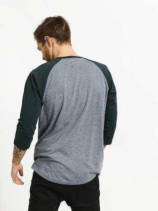 T-shirt Vans Full Patch Raglan (heather grey/darkest spruce)