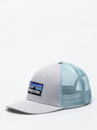 Czapka z daszkiem Patagonia P 6 Logo Trucker ZD (drifter grey w/dam blue)