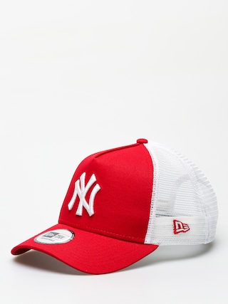 Czapka z daszkiem New Era Clean Trucker New York Yankees ZD (scarlet)