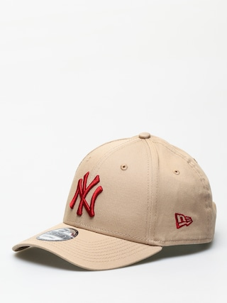 Czapka z daszkiem New Era 9Forty League Essential New York Yankees ZD (camel/hot red)