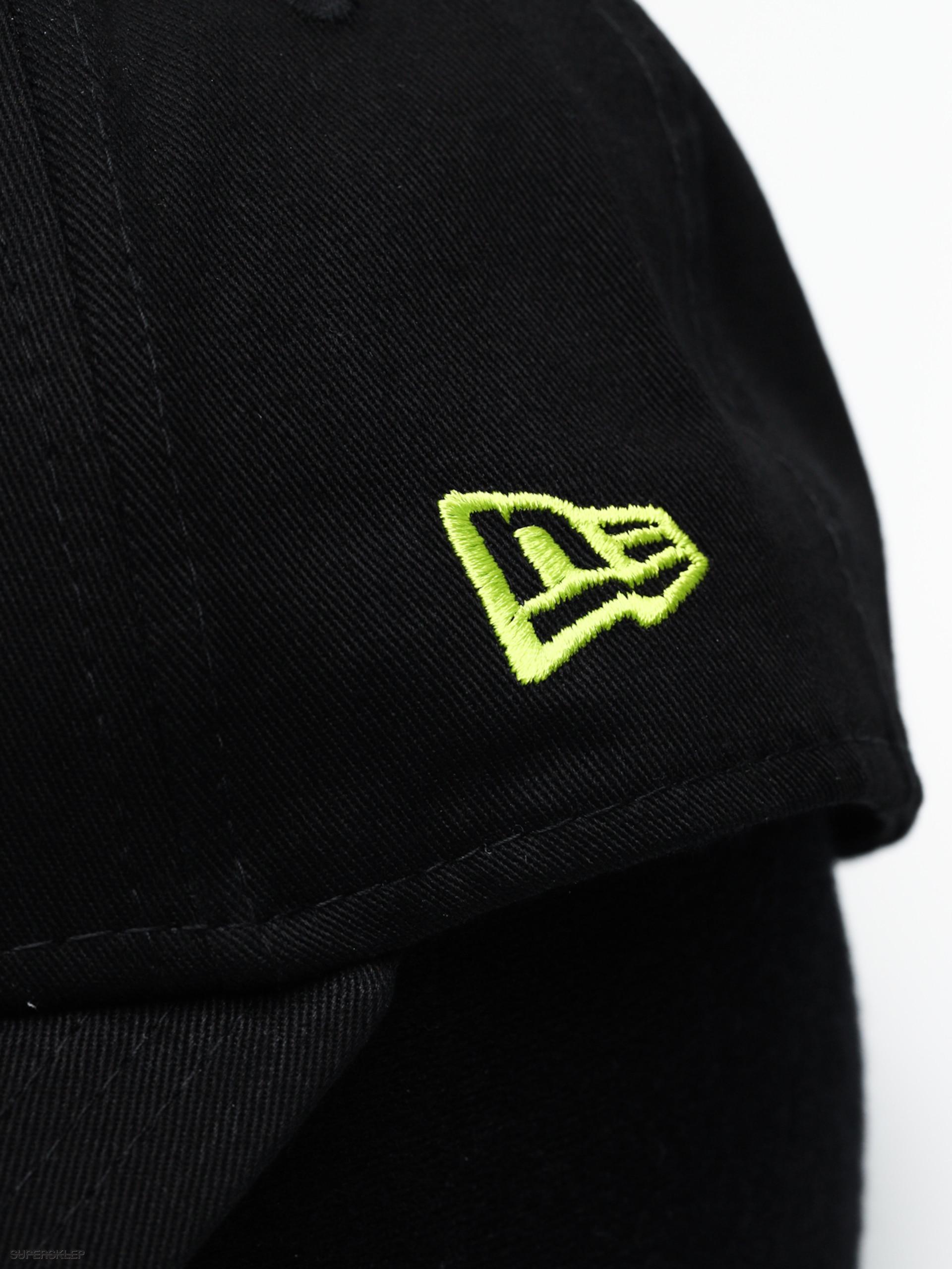 3455c046 Czapka z daszkiem New Era 9Forty League Essential New York Yankees ZD  (black/cyber green)