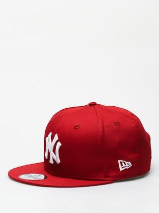 Czapka z daszkiem New Era 9Fifty League Essential New York Yankees ZD (hot red/optic white)