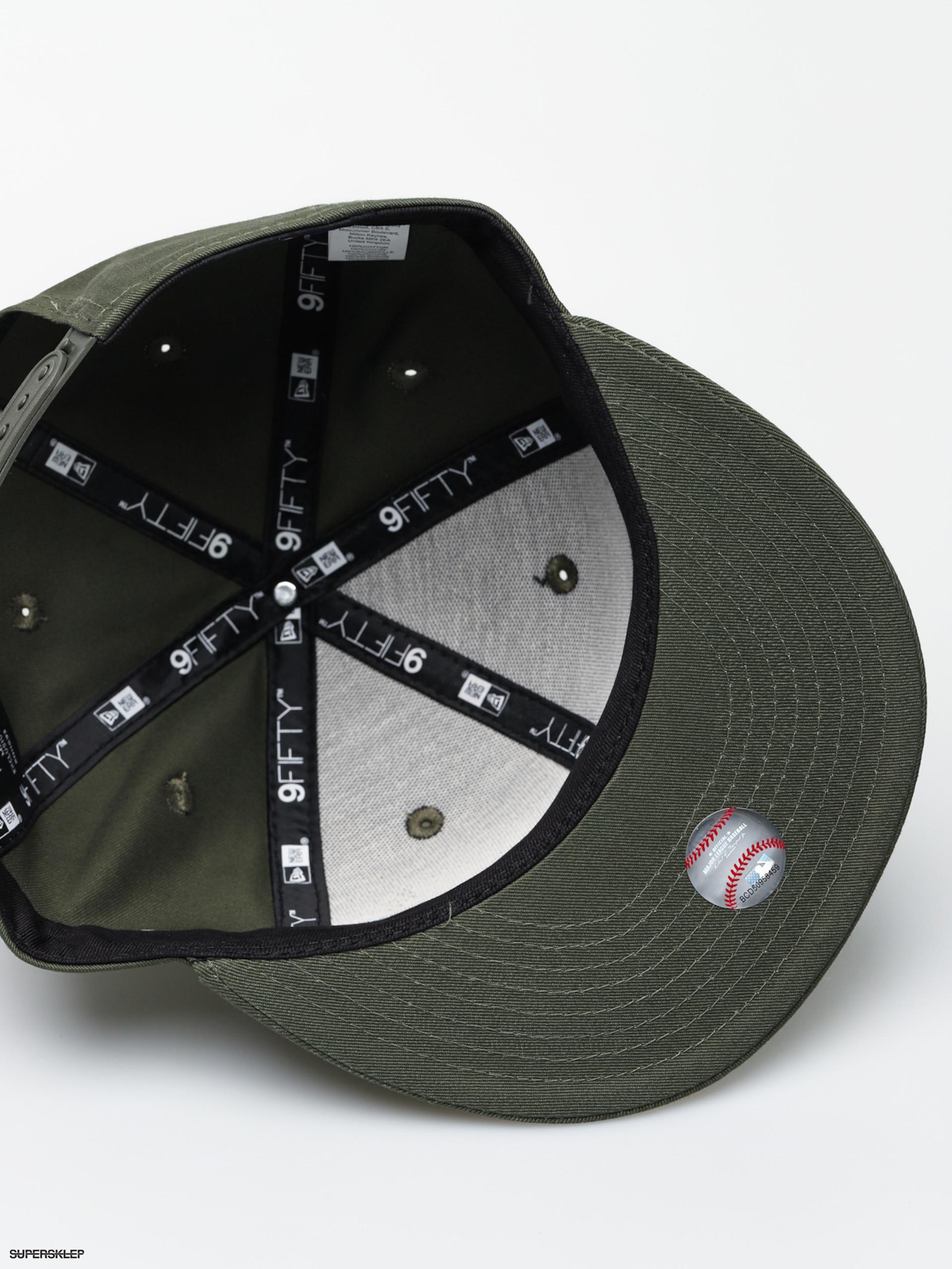 70f31a3bc Czapka z daszkiem New Era 9Fifty League Essential Los Angeles Dodgers ZD  (new olive/black)