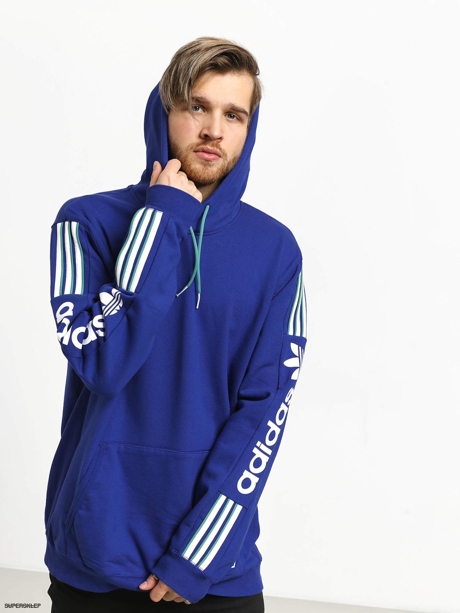 Bluza adidas Qrzflce (actbluwhiteactgrn)