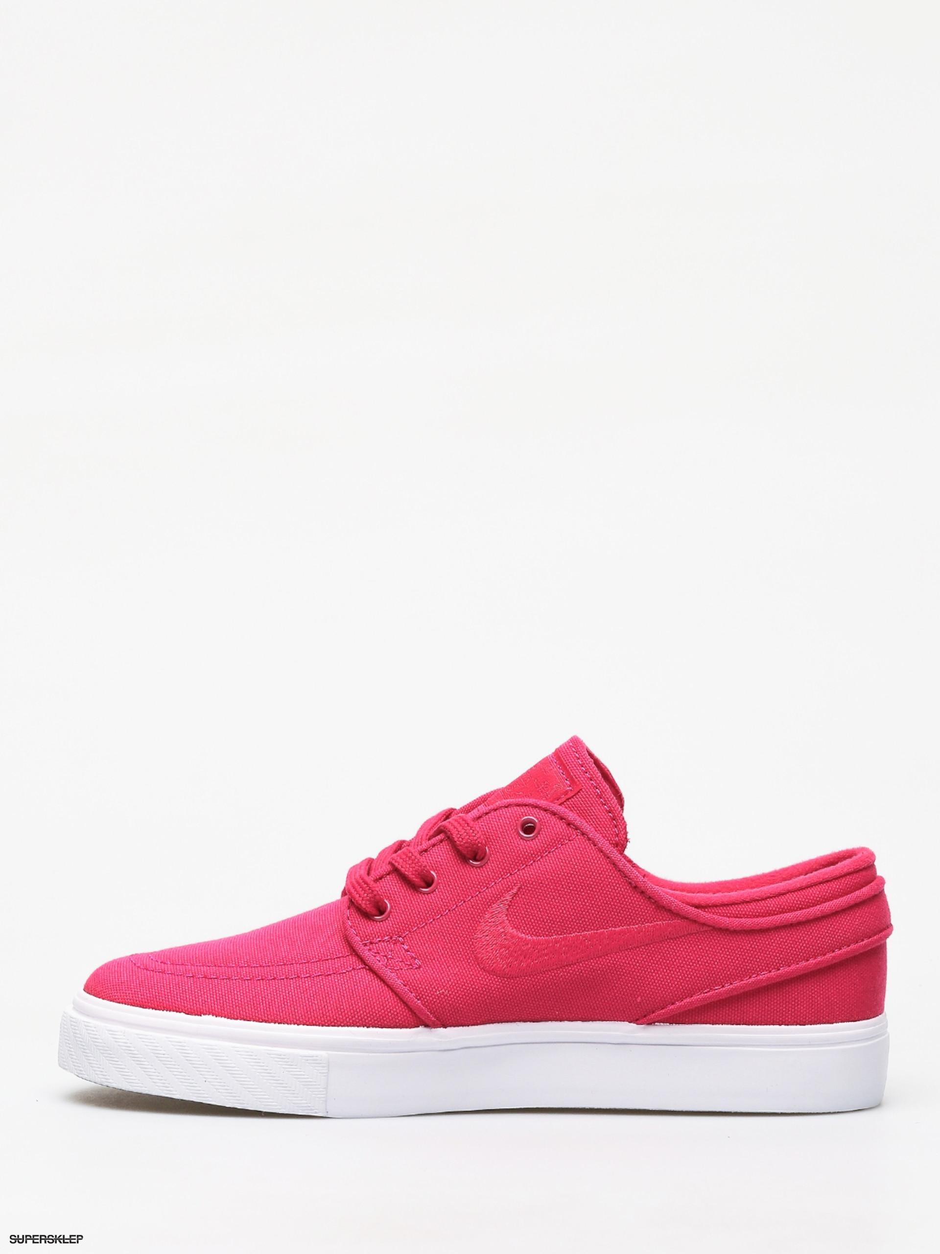 Buty Nike SB Stefan Janoski Canvas (rush pinkrush pink gum yellow)