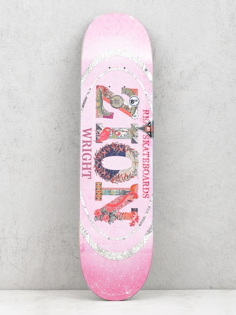 Deck Real Zion C And P Oval (pink)