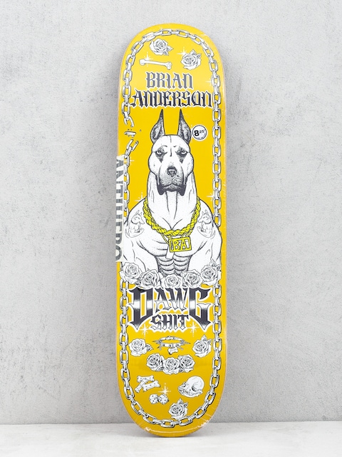 Deck Antihero Ba Dawg Shit (yellow)