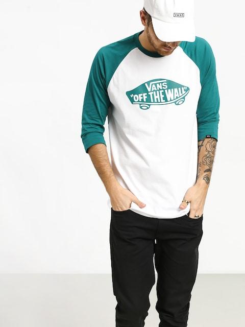 T-shirt Vans Otw Raglan (white/quetzal)